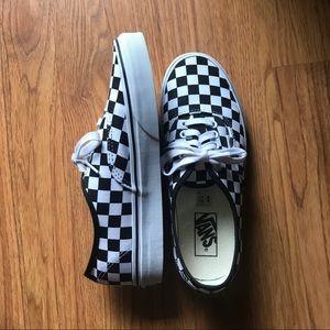 Vans Authentic - Checker - Size 8.5 Women's